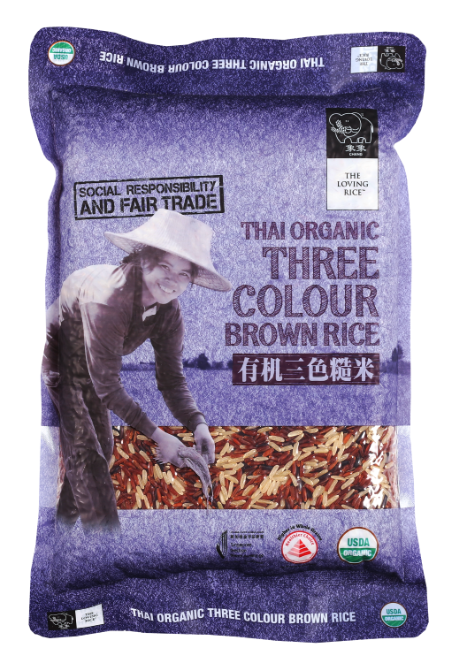 Three Colour Brown Rice 1
